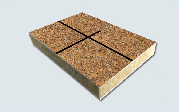 西安多彩理石漆饰面一体板