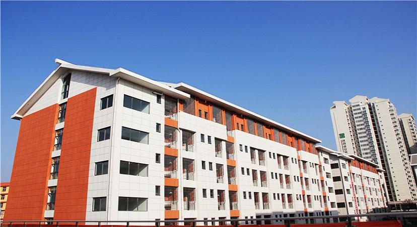 陕西安康市国际中学真石