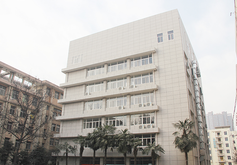 陕西师范学前教育学院外墙真石漆建荣漆工程案