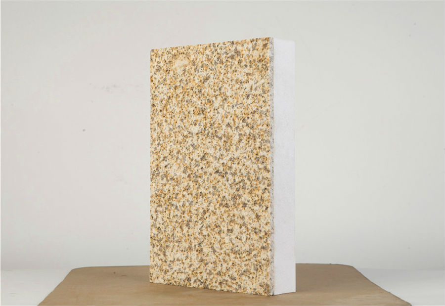 武威外墙保温一体板仿石漆饰面层